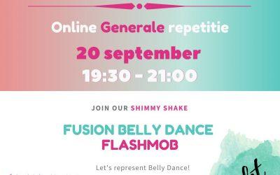 Aanmelden generale repetitie Flashmob 2020