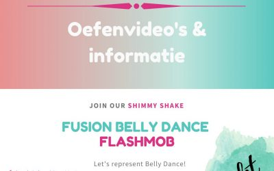 Oefenvideo's Shimmy Shake Flashmob 2020